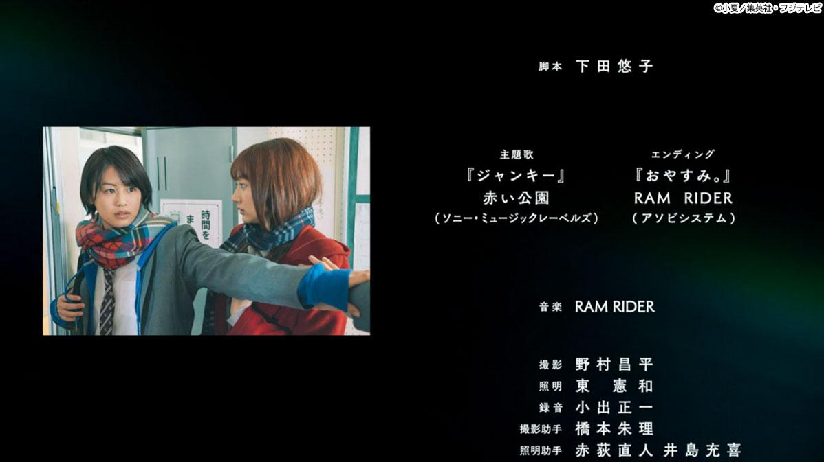 エンディング『おやすみ。』RAM RIDER / 音楽 RAM RIDER